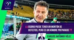 Carlos Antonio Vélez, Palabras Mayores 3 de diciembre