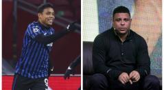 Muriel y Ronaldo