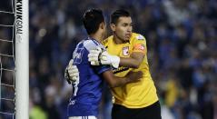 David Silva y Leandro Castellanos