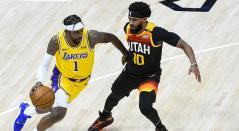 Los Utah Jazz derrotaron a Los Ángeles Lakers