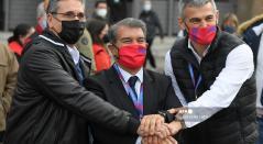 Joan Laporta, nuevo presidente de Barcelona