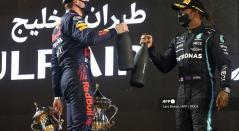 Lewis Hamilton y Verstappen