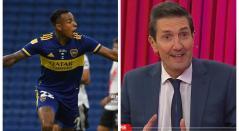 Sebastián Villa y Miguel Simón