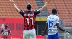 Milán vs Sampdoria, Zlatan Ibrahimovic
