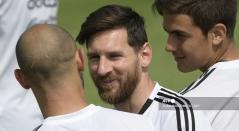 Lionel Messi y Mascherano