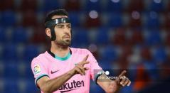 Busquets, jugador del Barcelona