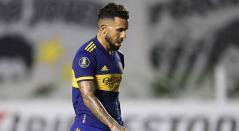 Carlos Tévez, jugador de Boca
