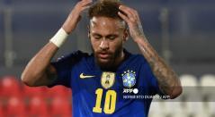 Neymar, jugador de Brasil