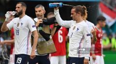 Karim Benzema y Antoine Griezmann