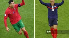 Portugal vs Francia; Cristiano Ronaldo vs Mbappé