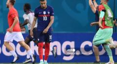 Mbappé, jugador de Francia