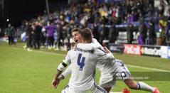Sergio Ramos y James Rodríguez - Real Madrid