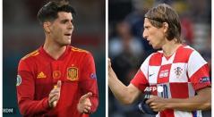 Croacia vs España; Eurocopa 2021