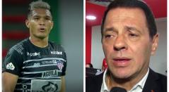Teófilo Gutiérrez y Tulio Gómez