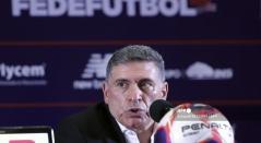 Luis Fernando Suárez, técnico de Costa Rica