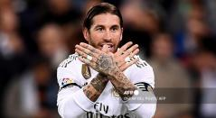 Sergio Ramos, central del Real Madrid