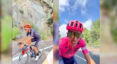 Rigoberto Urán y Richard Carapaz antes del Tour de Francia 2021