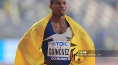 Alex Quiñonez, atleta ecuatoriano