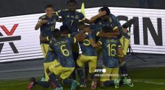 Selección Colombia vs Uruguay