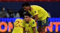 Luis Díaz y Juan Guillermo Cuadrado - Selección Colombia