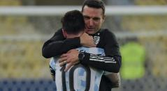 Lionel Scaloni, Argentina, Copa América 2021
