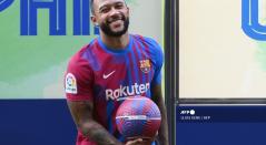 Memphis Depay, futbolista de Barcelona