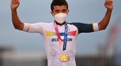 Richard Carapaz, Juegos Olímpicos de Tokio