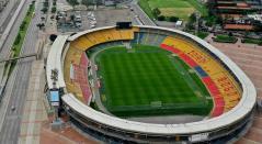Estadio El Campín en Bogotá