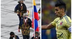 Falcao y deportistas olímpicos colombianos