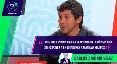 Carlos Antonio Vélez, Palabras Mayores 28 julio 2021