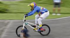 Carlos Ramírez en los Juegos Olímpicos de Tokio