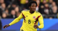 Carlos la 'Roca' Sánchez, jugador de la Selección Colombia