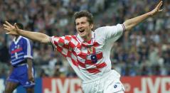Davor Suker, exjugador de Croacia