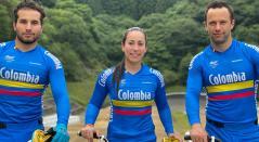 Delegación de BMX de Colombia en los Olímpicos