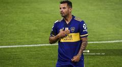Edwin Cardona, jugador de Boca Juniors