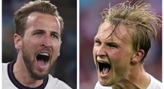 Inglaterra vs Dinamarca; semifinal, Eurocopa 2021