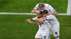 Lorenzo Insigne marcó para Italia en la Eurocopa