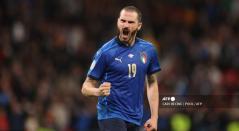 Leonardo Bonucci, jugador de la Selección de Italia
