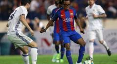 Leyendas del Barcelona y el Real Madrid