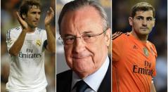 Raúl, Florentino Pérez y Casillas