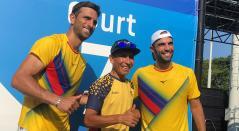 Robert Farah, Nairo Quintana, Juan Sebastián Cabal, Juegos Olímpicos