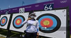 San AN, atleta de Corea del Sur