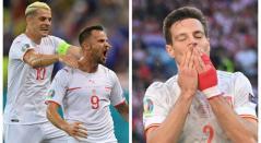 Suiza vs España; Eurocopa 2021