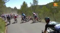 Tour de Francia caída, etapa 13