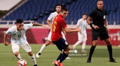Pedri, jugador de España