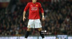 Cristiano Ronaldo, futbolista de Manchester United