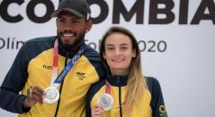 Anthony Zambrano y Sandra Lorena Arenas