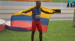 Jhon Berrio, atleta colombiano