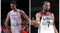 España vs Estados Unidos - baloncesto