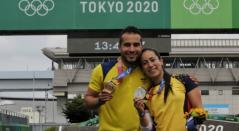 Mariana Pajón y Carlos Ramírez - Juegos Olímpicos